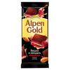 Alpen Gold «Темный шоколад с миндально-вишневой начинкой»